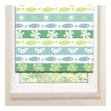 Рулонные шторы: Полоски в рисунках