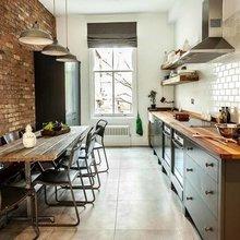 Фотография: Кухня и столовая в стиле Лофт, Гид, за и против – фото на InMyRoom.ru