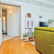 Фотография: Гостиная в стиле Кантри, Квартира, Дома и квартиры – фото на InMyRoom.ru