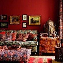Фотография: Гостиная в стиле Кантри, Современный, Восточный, Эклектика – фото на InMyRoom.ru
