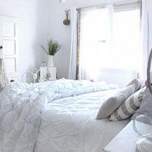Фотография: Спальня в стиле Скандинавский, Дизайн интерьера, Шебби-шик – фото на InMyRoom.ru