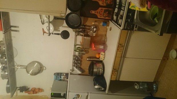 кухня с очень неудобной планировкой