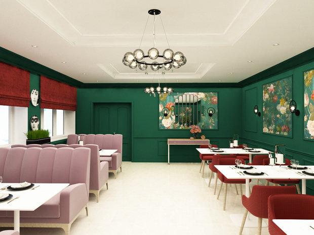 Фото из портфолио Банкетный зал п.Селты, Удмуртская Республика – фотографии дизайна интерьеров на INMYROOM