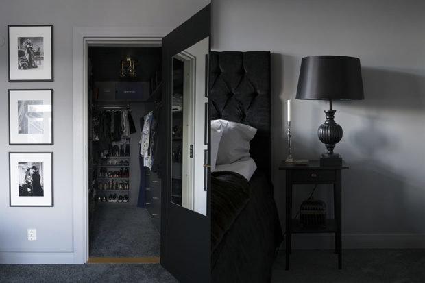 Фотография: Гардеробная в стиле Современный, Декор интерьера, Квартира, Швеция, Черный, 2 комнаты – фото на InMyRoom.ru