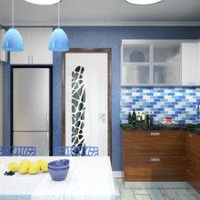 Фото из портфолио Квартира в Киеве в стиле минимализма – фотографии дизайна интерьеров на INMYROOM