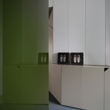 Фотография:  в стиле Современный, Малогабаритная квартира, Квартира, Италия, Дома и квартиры – фото на InMyRoom.ru