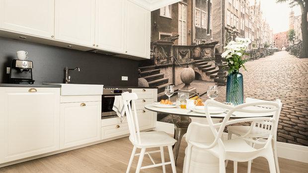 Фотография: Кухня и столовая в стиле Современный, Декор интерьера, Малогабаритная квартира, Польша – фото на InMyRoom.ru