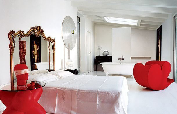 Фотография: Спальня в стиле Эклектика, Интервью, Правила дизайна, Фабио Новембре – фото на INMYROOM