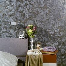 Фотография: Спальня в стиле Современный, Декор интерьера, Декор дома, Декоративная штукатурка – фото на InMyRoom.ru