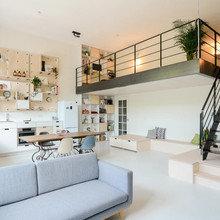 Фото из портфолио Амстердам : Старые школы превращаются в современные квартиры – фотографии дизайна интерьеров на InMyRoom.ru