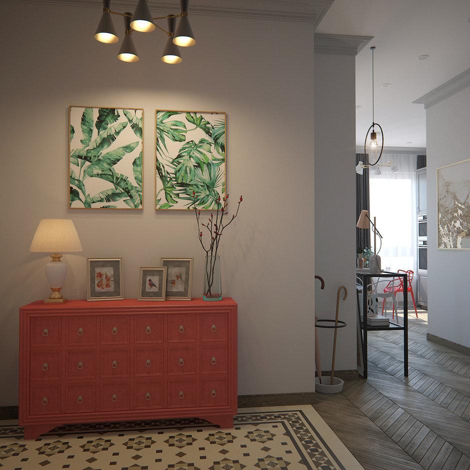 Фотография:  в стиле , Малогабаритная квартира, Квартира, Проект недели, Москва, Монолитный дом, 1 комната, до 40 метров, ЖК Green Park, Анна Якупова – фото на InMyRoom.ru