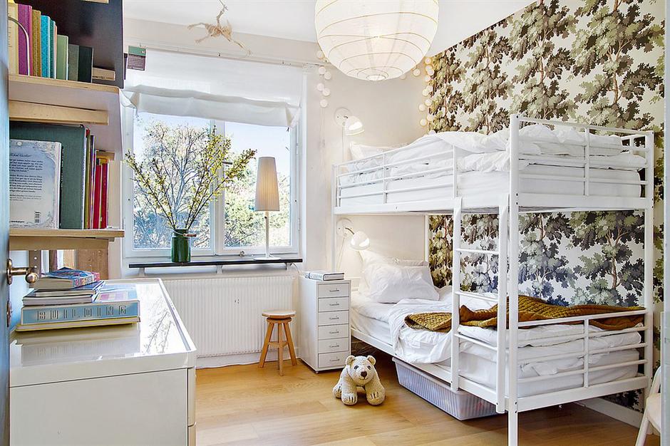 Фотография: Детская в стиле Современный, Скандинавский, Малогабаритная квартира, Квартира, Франция, Дома и квартиры – фото на InMyRoom.ru