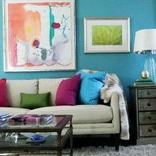 Фотография: Гостиная в стиле Кантри, Декор интерьера, Квартира, Дом, Интерьер комнат – фото на InMyRoom.ru