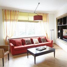 Фотография: Гостиная в стиле Современный, Минимализм, Классический, Квартира, Проект недели – фото на InMyRoom.ru