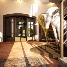 Фотография:  в стиле , Дом, Дома и квартиры, Картины – фото на InMyRoom.ru
