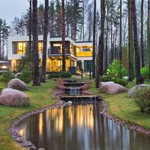 Фото из портфолио Дом в современном стиле – фотографии дизайна интерьеров на InMyRoom.ru