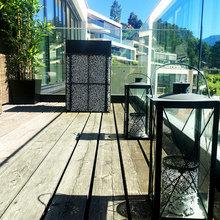 Фото из портфолио Апартаменты в современном стиле с большой террасой – фотографии дизайна интерьеров на InMyRoom.ru