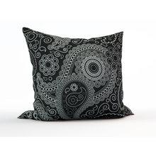 Диванная подушка: Серебряные огурцы