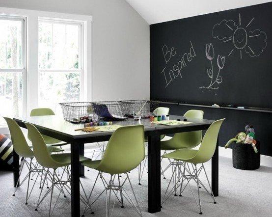 Фотография: Детская в стиле Лофт, Классический, Дом, Цвет в интерьере, Дома и квартиры, Белый, Черный, Серый – фото на INMYROOM