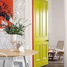 Фотография: Мебель и свет в стиле Скандинавский, Малогабаритная квартира – фото на InMyRoom.ru