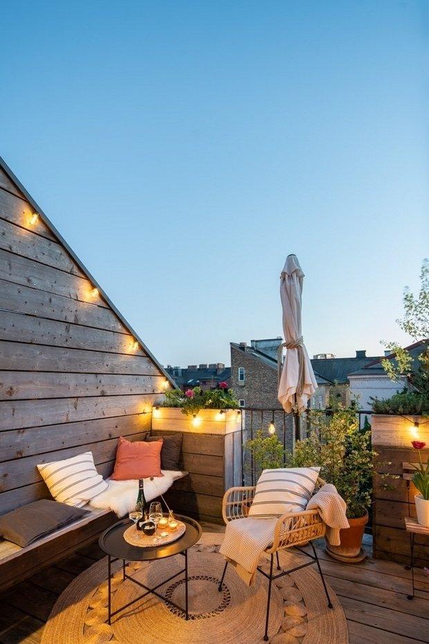 Фотография: Балкон в стиле Эко, Декор интерьера, Швеция, 2 комнаты – фото на INMYROOM