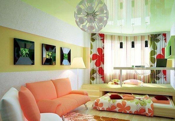 Фотография: Спальня в стиле Прованс и Кантри, Современный, Детская, Декор интерьера, Мебель и свет, Кровать, Подиум – фото на InMyRoom.ru
