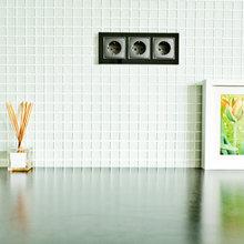 Фотография:  в стиле Современный, Квартира, Цвет в интерьере, Дома и квартиры – фото на InMyRoom.ru