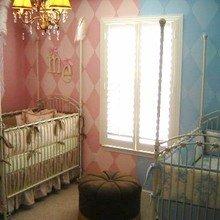 Фотография: Детская в стиле Кантри, Декор интерьера, Интерьер комнат, Цвет в интерьере – фото на InMyRoom.ru