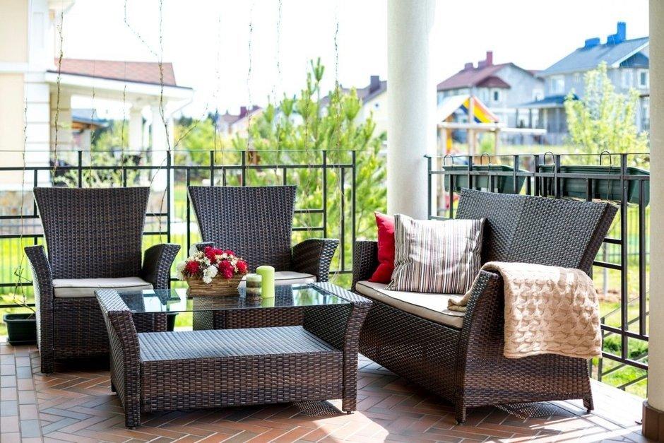 Фотография: Балкон, Терраса в стиле Восточный, Дом, Дома и квартиры – фото на InMyRoom.ru