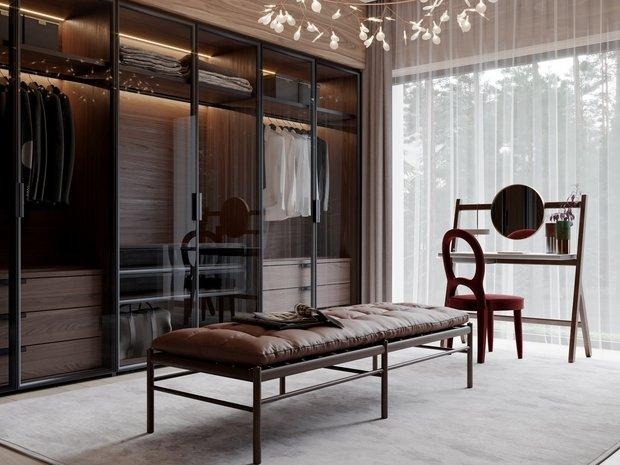 Фотография: Гардеробная в стиле Современный, Квартира, Проект недели, 4 и больше, Более 90 метров, Ab-architects, Level Barvikha – фото на INMYROOM