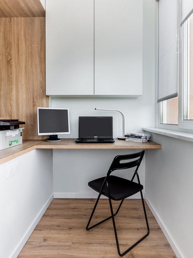 Фото из портфолио Трёхкомнатная квартира для молодой семьи – фотографии дизайна интерьеров на INMYROOM