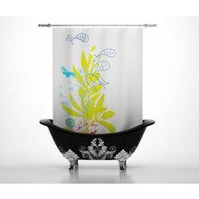 Штора для ванной: Маленький аквариум
