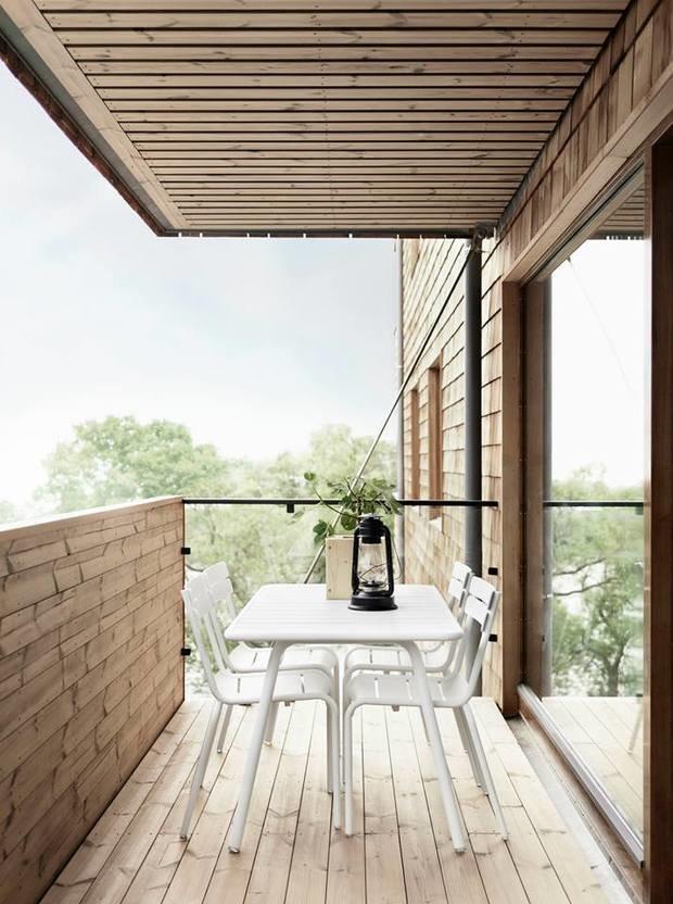 Фотография: Балкон, Терраса в стиле Лофт, Скандинавский, Дом, Дома и квартиры – фото на INMYROOM