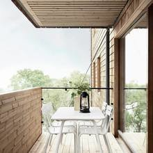Фотография: Балкон, Терраса в стиле Лофт, Скандинавский, Дом, Дома и квартиры – фото на InMyRoom.ru