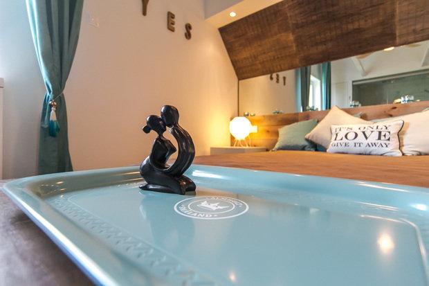 Фотография: Спальня в стиле Прованс и Кантри, Скандинавский, Современный, Интерьер комнат, Дача, Дачный ответ, Мансарда – фото на InMyRoom.ru