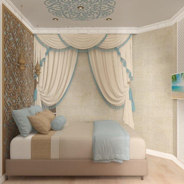 Фото из портфолио Студия в восточном стиле – фотографии дизайна интерьеров на INMYROOM