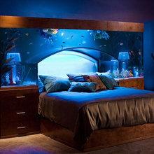 Фотография: Спальня в стиле Современный, Декор интерьера, DIY, Мебель и свет – фото на InMyRoom.ru