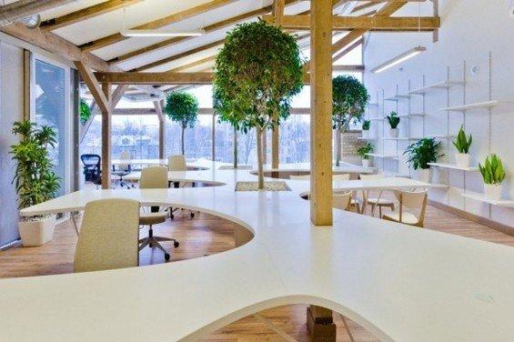 Фотография: Офис в стиле Эко, Декор интерьера, Офисное пространство, Ландшафт, Стиль жизни – фото на InMyRoom.ru