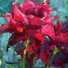 Картина (репродукция, постер): Rose again - Кетлин Рехфелд
