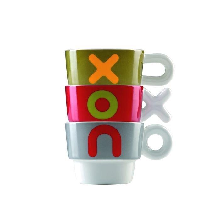 Набор чашек viceversa «xou», 3 шт.