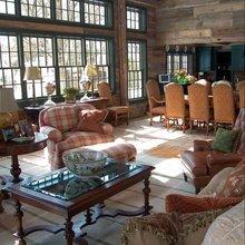 Фотография: Гостиная в стиле Кантри, Классический, Современный, Декор интерьера, Декор дома, Ковер – фото на InMyRoom.ru