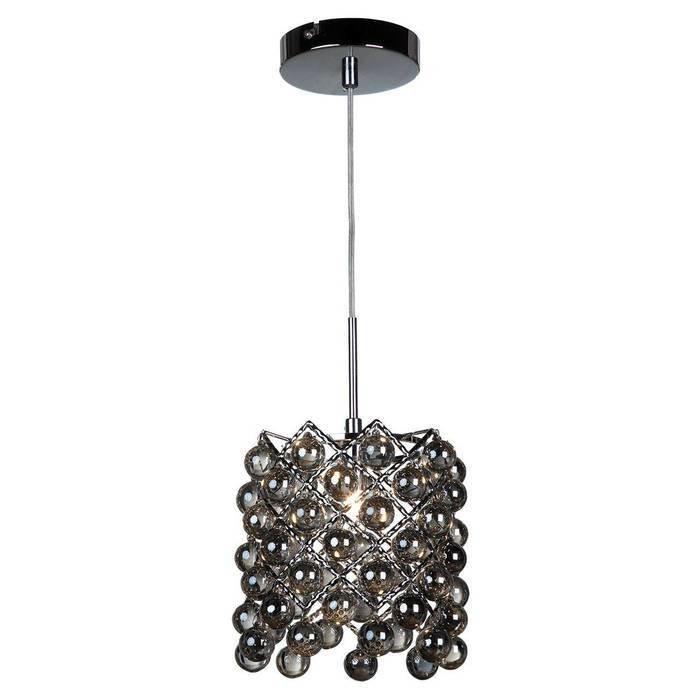 Подвесной светильник LUSSOLE с декоративным плафоном из стекла