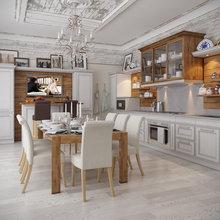 """Фото из портфолио """" Загородный Дом """" – фотографии дизайна интерьеров на InMyRoom.ru"""
