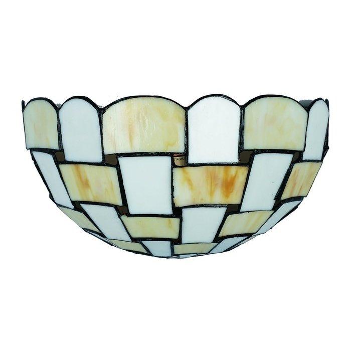 Настенный светильник Omnilux с плафоном из стекла