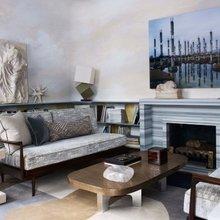Фотография: Гостиная в стиле Современный, Классический, Декор интерьера, Декор дома, Минимализм, Переделка – фото на InMyRoom.ru