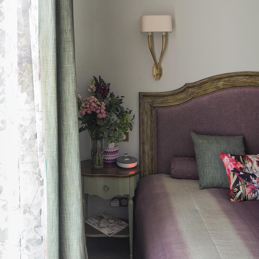 Фотография: Спальня, Мебель и свет в стиле Прованс и Кантри, Квартира, Дома и квартиры, Проект недели – фото на InMyRoom.ru