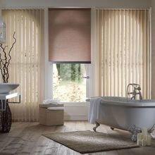 Фотография: Ванная в стиле Кантри, Декор интерьера, Квартира, Дом, Жалюзи – фото на InMyRoom.ru