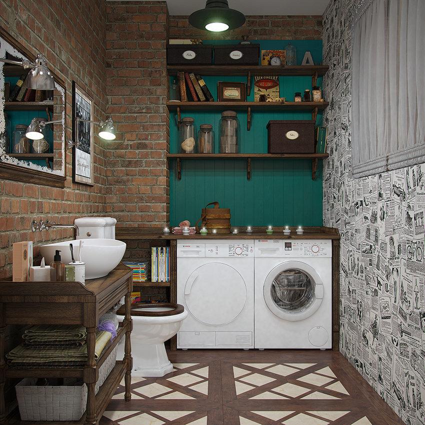 Фотография: Ванная в стиле Современный, Декор интерьера, Квартира, Foscarini, Restoration Hardware, Дома и квартиры, IKEA, Проект недели – фото на InMyRoom.ru