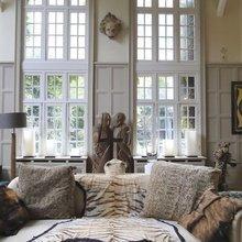 Фотография: Гостиная в стиле Эклектика, Дом, Дома и квартиры, Колониальный – фото на InMyRoom.ru