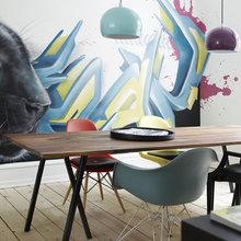 Фотография: Кухня и столовая в стиле Лофт, Современный, Скандинавский, Квартира, Дания, Цвет в интерьере, Дома и квартиры, Белый – фото на InMyRoom.ru